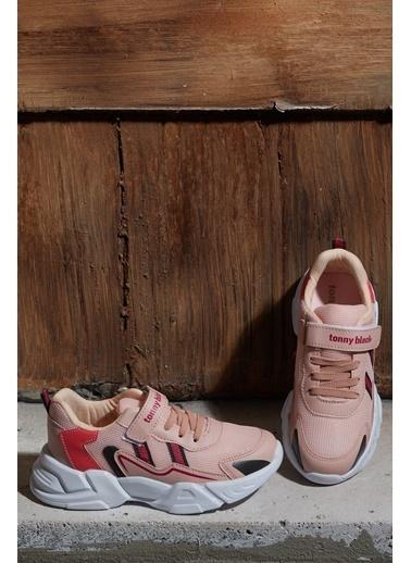Tonny Black Pudra Çocuk Spor Ayakkabı Tb0098 Pudra